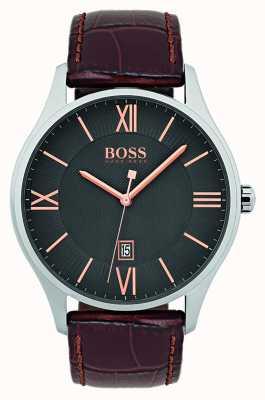 Hugo Boss Montre bracelet cuir classique 1513484