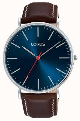 Lorus Vêtement urbain masculin classique cadran bleu marine RH813CX9