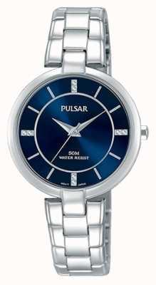 Pulsar Bracelet en acier inoxydable bracelet bleu femme PH8313X1
