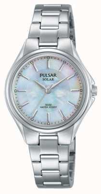 Pulsar Womans bracelet en acier inoxydable nacre cadran PY5031X1