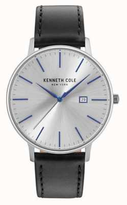 Kenneth Cole Chaussure en cuir noir pour homme KC15059006