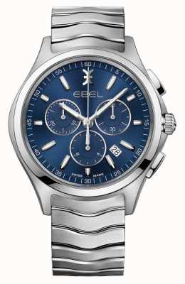 EBEL Montre à quartz bleu 1216344