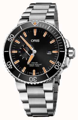 Oris Aquis date automatique en acier inoxydable cadran noir 01 743 7733 4159-07 8 24 05PEB