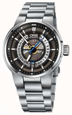 Oris Williams moteur date automatique en acier inoxydable 01 733 7740 4154-07 8 24 50S