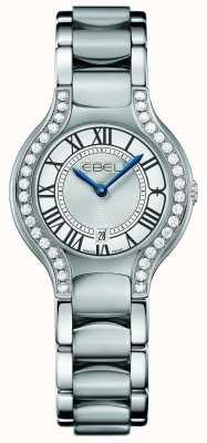 EBEL Ensemble de diamants beluga pour femmes en acier inoxydable 1216069