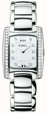 EBEL Acier inoxydable diamant brasiliaire femme 1215607