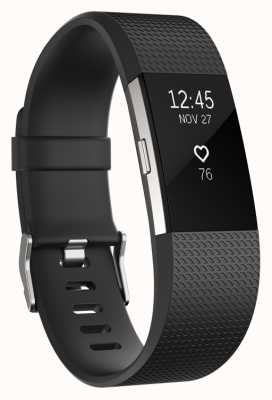 Fitbit Charge 2 - noir, grand FB407SBKL-EU