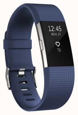 Fitbit Charge 2 - bleu, petit FB407SBUS-EU