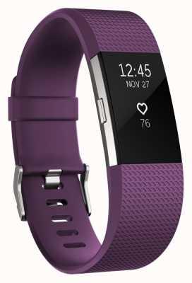 Fitbit Charge 2 - prune, petite FB407SPMS-EU