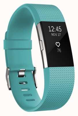 Fitbit Charge 2 - sarcelle, petite FB407STES-EU