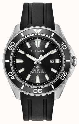 Citizen Bracelet en caoutchouc pour homme pro-émotique BN0190-07E