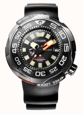 Citizen Promaster marine 1000m eco-drive divers sangle en caoutchouc BN7020-17E