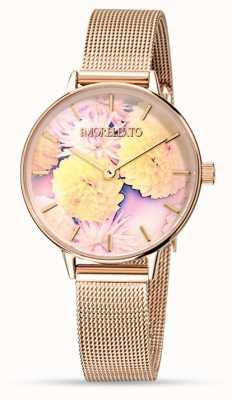 Morellato Montre en maille en or rose ninfa pour femme R0153141502