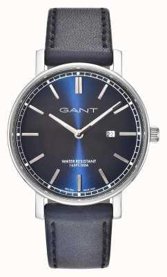 GANT Bracelet en cuir bleu homme nashville bleu GT006002