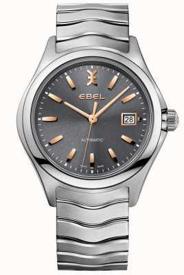 EBEL Wave Watch en acier inoxydable ton argent 1216383