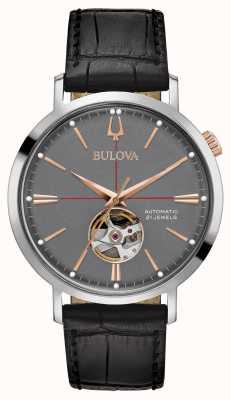 Bulova Hommes gris classique gris 98A187