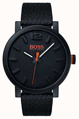 Hugo Boss Orange Montre bilbao homme en noir 1550038