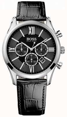 Hugo Boss Ambassadeur cuir noir 1513194
