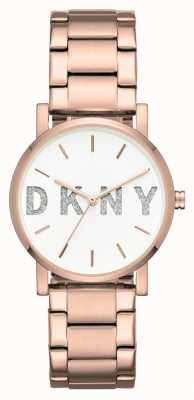 DKNY Womans Soho rose bracelet en or NY2654