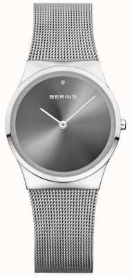 Bering Unisex classic sunray cadran argent milanais 12130-009