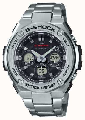 Casio Hommes g-shock g-acier rond en acier inoxydable Chrono GST-W310D-1AER