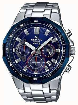 Casio Montre chronographe homme bleu EFR-554RR-2AVUEF
