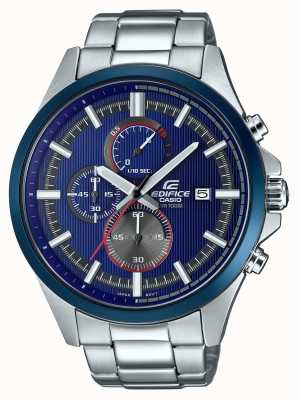 Casio Montres de course automobile chronographe bleu EFV-520RR-2AVUEF