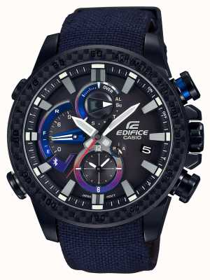 Casio Mens toro rosso bluetooth triple connect regarder EQB-800TR-1AER