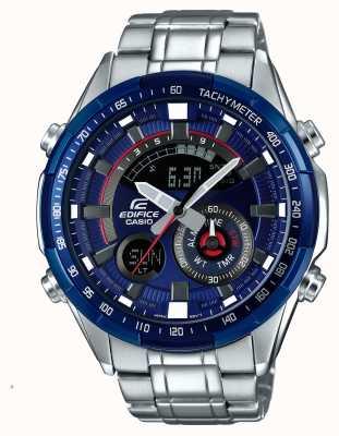 Casio Montre chronographe chronomètre alarme série bleu sport ERA-600RR-2AVUEF