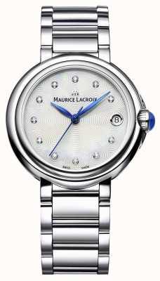 Maurice Lacroix Montre-bracelet Fiaba 32 mm sertie de diamants pour femme FA1004-SS002-170-1
