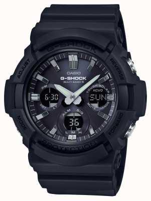 Casio Waveceptor alarme chronographe gris / noir GAW-100B-1AER