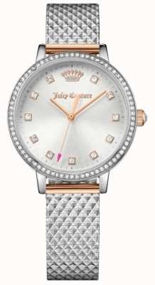 Juicy Couture Womans socialite montre argent 1901612