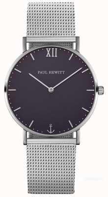 Paul Hewitt Bracelet en maille argenté argenté unisexe PH-SA-S-ST-B-4M