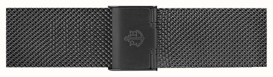 Paul Hewitt Bracelet en acier inoxydable noir 176mm PH-M1-G-5S