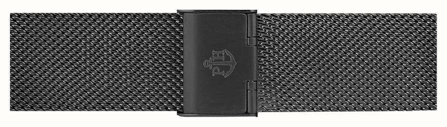 Paul Hewitt Bracelet en acier inoxydable noir 186mm PH-M1-G-5M