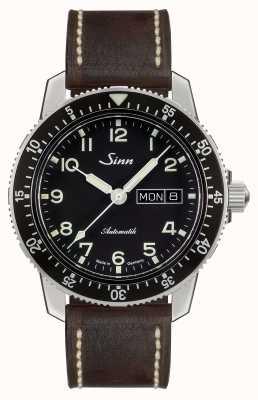 Sinn 104 st sa une montre pilote classique cuir vintage brun foncé 104.011 BROWN VINTAGE LEATHER