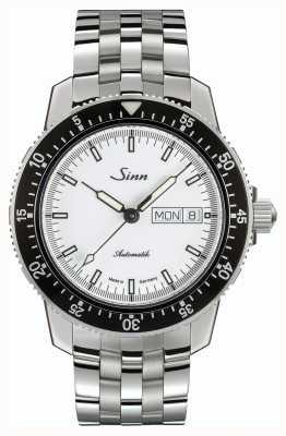 Sinn 104 st sa iw montre pilote classique bracelet en acier inoxydable 104.012 BRACELET