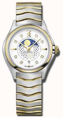 EBEL Montre à deux tons de la montre lunaire des femmes 1216373