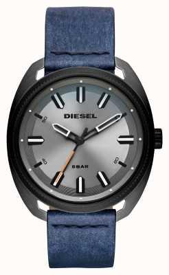 Diesel Bracelet en cuir fastbak denim-look pour homme DZ1838