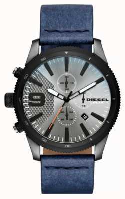 Diesel Montre à chronographe en similicuir pour homme rasp DZ4456