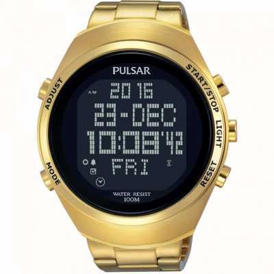 Pulsar Chronographe d'alarme pour homme PQ2056X1