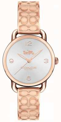 Coach Womans delancey montre en or rose 14502893