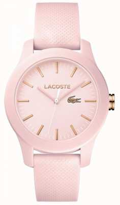 Lacoste Womens 12.12 regarde le rose 2001003