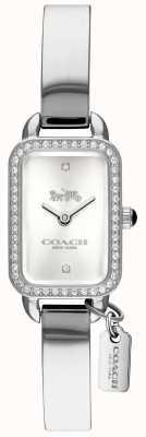 Coach Cadran rectangulaire argenté Ludlow Femme 14502823