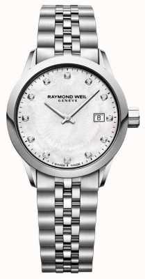 Raymond Weil Cadran nacre femme freelancer 5629-ST-97081