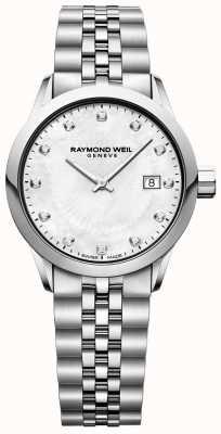 Raymond Weil Cadran en nacre pour femme freelancer 5629-ST-97081