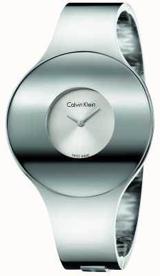 Calvin Klein Womans argent sans soudure en acier K8C2M116