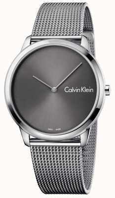 Calvin Klein Bracelet unisexe minimaliste en maille K3M211Y3