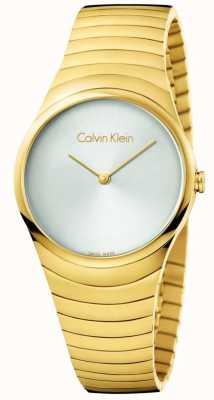 Calvin Klein Montre en or inox en acier inoxydable K8A23546