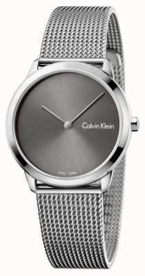 Calvin Klein Montre minimale Womans montre gris K3M221Y3